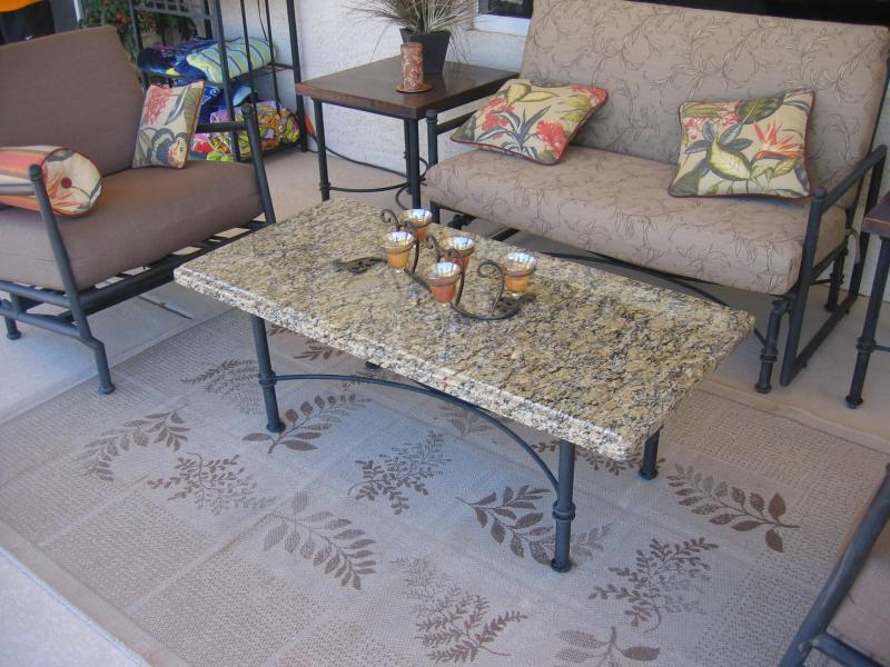 Granite Patio Table Top Elegant Granite Inc Call Today For Your Free  Estimate 480 626 1418